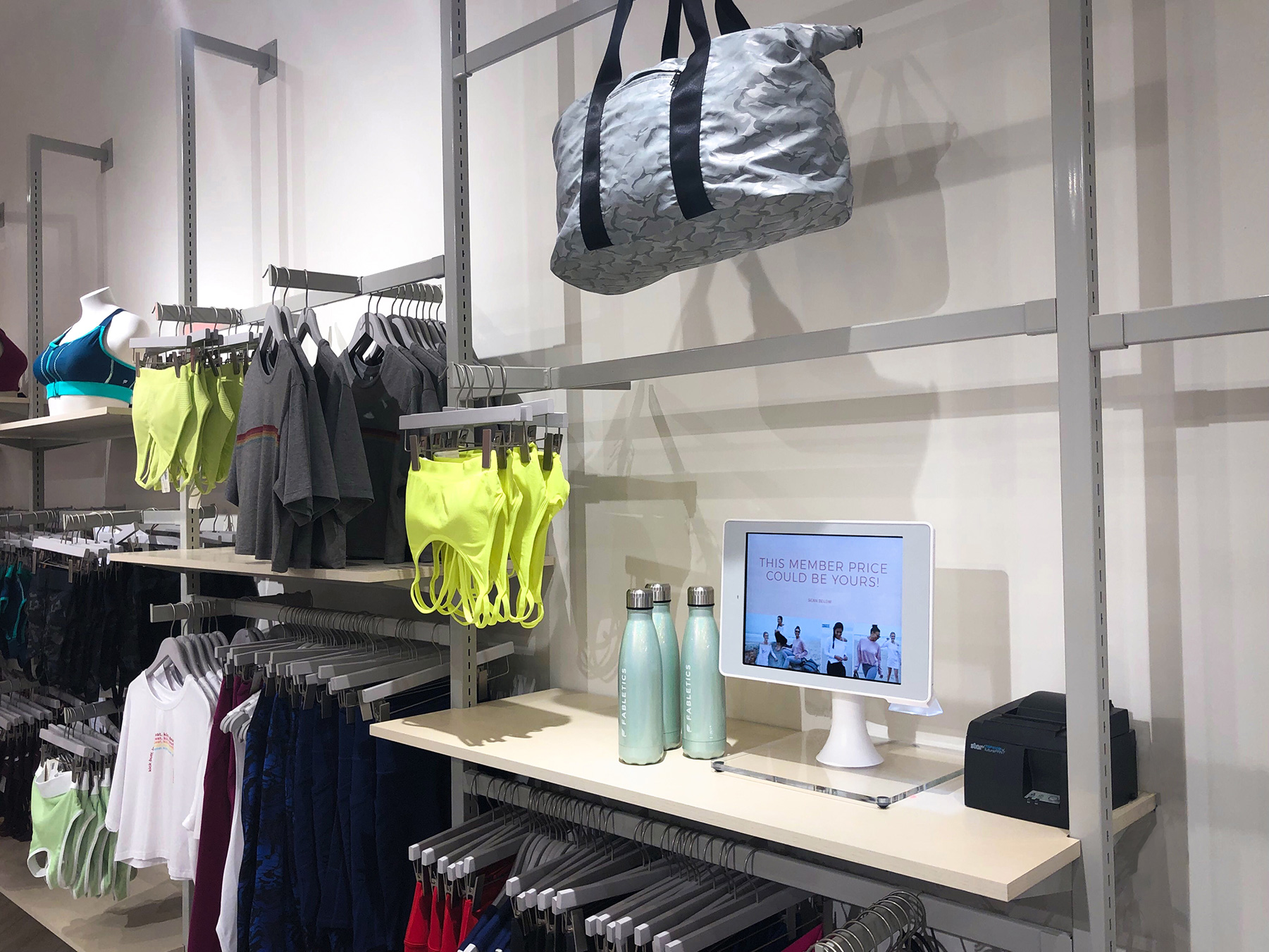 Aila-Interactive-Kiosk-Price-checking-product-discovery-Fabletics